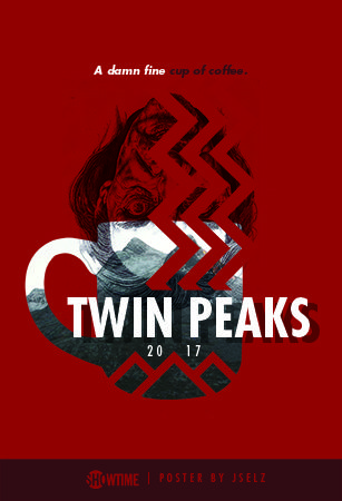 Twin Peaks Art Posters