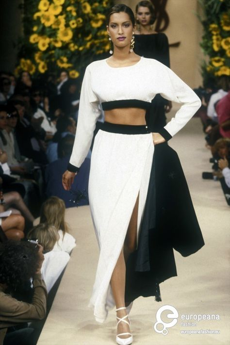 Yasmeen Ghauri for Yves Saint Laurent, Autumn-Winter Couture