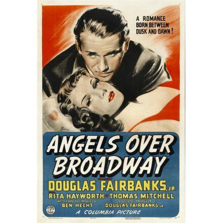 Angels Over Broadway Canvas Art - (24 x 36)