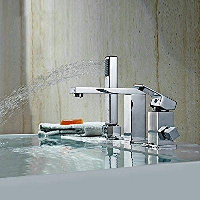 Homili Modern Bathroom Bathtub Faucet Widespread Bath Tub Filler