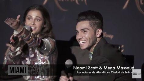 Pin De Marytere Arévalo En Mena Massoud En 2020 Naomi Scott Aladdin Actores