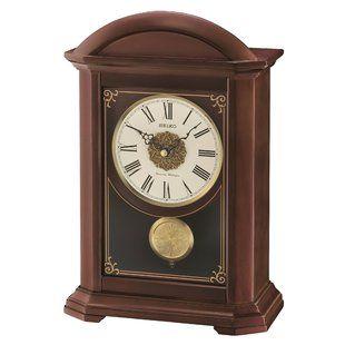 Bulova Empire Mantel Clock Wayfair Mantel Clock Clock Mantle Clock