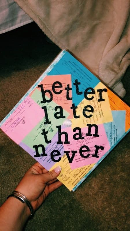 Struggling to figure out how to decorate a graduation cap? Get some inspiration from one of these clever DIY graduation cap ideas in These high school and college graduation cap decorations won't disappoint! Funny Graduation Caps, Graduation Cap Designs, Graduation Cap Decoration, Graduation Diy, High School Graduation, Graduation Pictures, Graduate School, Funny Grad Cap Ideas, Graduation Quotes