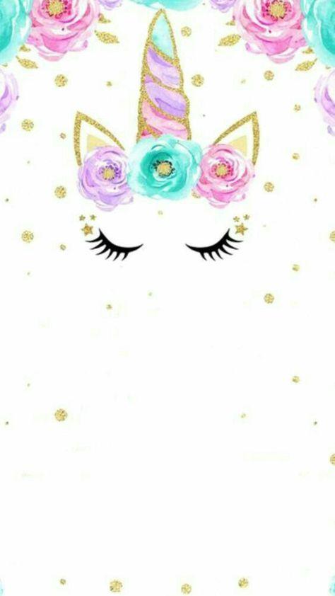 Pin De Blanca En Cards Tarjetas De Unicornio Invitaciones
