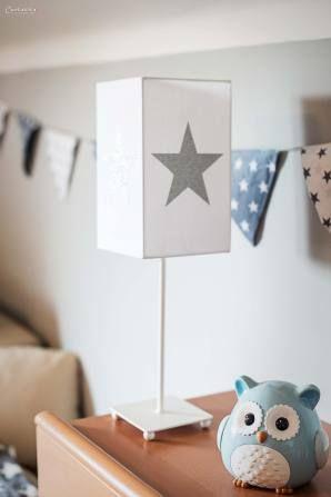 Kinderzimmer sterne  Kinderzimmer Wandsticker Sterne blau/grau 68-teilig | Blau grau ...