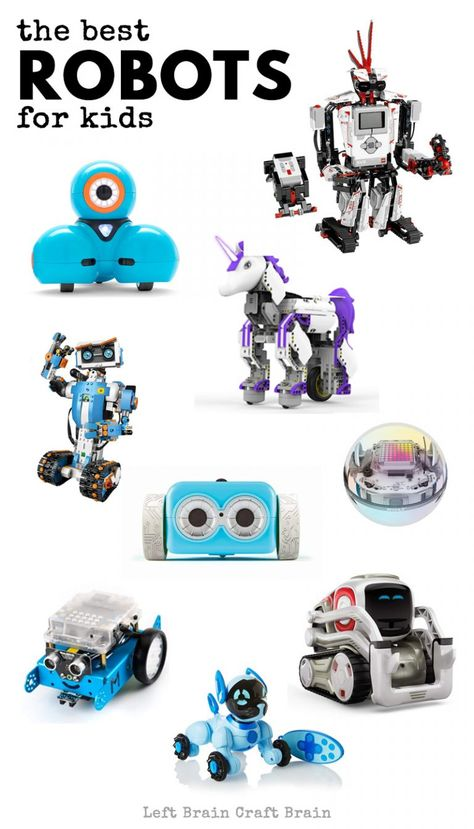 The Best Toy Robots For Kids Robots For Kids Kid Robot Toys Robot Kits For Kids