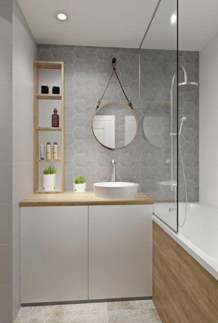 45 Moderne Badezimmer Hohe Moderne Eitelkeit In 2020 Badezimmer Badezimmer Innenausstattung Badezimmer Klein