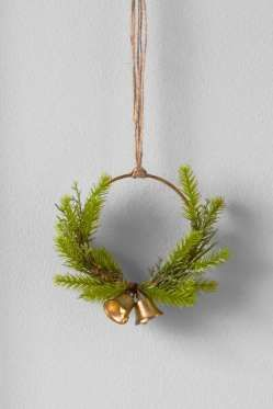 10buy Nowit S So Cute And Tiny You Ll Be Tempted To Add A Mini Wreath To Every Corner Of Your Home Target Xmas Crafts Christmas Wreaths Craft Bells