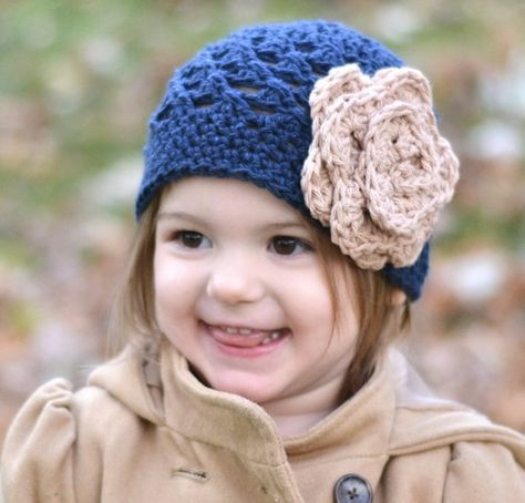 Cute Newborn Baby Caps Infant Girl Toddler Flower Cap Warm Beanie Hat Baby Girl Delicacies Loved By All Hats & Caps