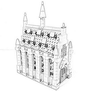 Harry Potter Lego Great Hall Coloring Pages Free And Downloadable Harry Potter Colors Harry Potter Coloring Pages Lego Harry Potter