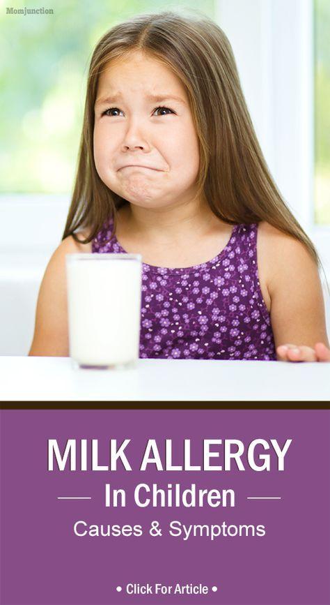 Milk allergy in toddler