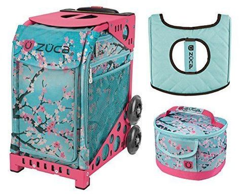 Anchor My Heart with Gift Lunchbox and Seat Cover Blue Frame Zuca Sport Bag