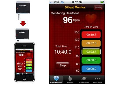 fca4a97a890 60beat Heart Rate Monitor for iPhone iPod