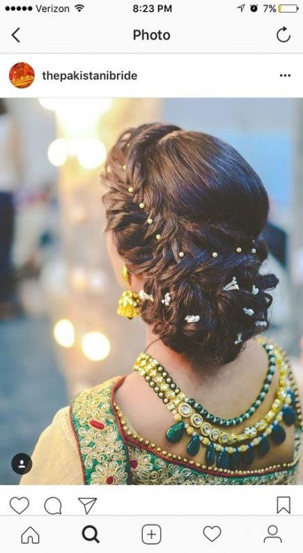 58 Trendy Ideas For Wedding Hairstyles Pakistani Low Buns Bridal Hair Buns Long Hair Styles Hair Styles