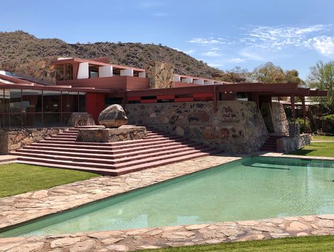 The Wright Angles At Taliesin West Franklloydwright