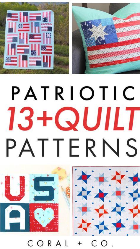 13+ Patriotic Quilt Patterns