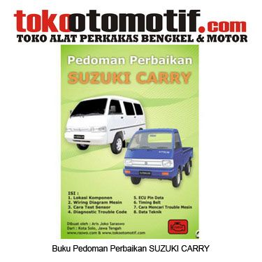 Kode 49000000311 Nama Pedoman Perbaikkan Mobil Suzuki Carry Status Siap Berat Kirim 1 Kg Perbaikan Mobil Mobil Perbaikan