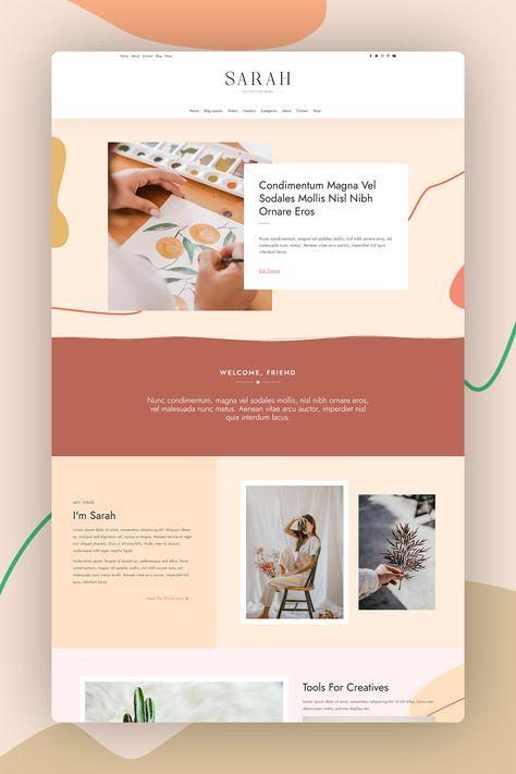WordPress Theme for Bloggers - WordPress Blog Theme - WordPress Blog - Responsive WordPress