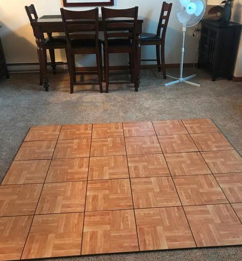 Basement And Portable Event Floor Tile Tile Floor Basement Flooring Options Portable Dance Floor