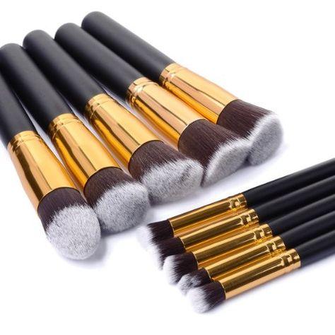 Luxebell® 10pcs Make-up Pinsel Set professionellen Kosmetik Set Satz Augenbrauen Schatten Cosmetic Foundation Concealer Bürsten Luxebell http://www.amazon.de/dp/B00Q7X0K7C/ref=cm_sw_r_pi_dp_s8yFvb0XHG1PG