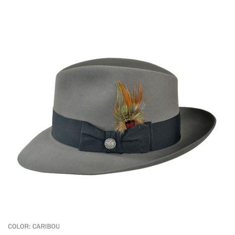 8040616bd3d0e Pinnacle Beaver Fedora Hat  325.00