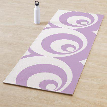Abstract Pattern Purple Yoga Mat Zazzle Com Abstract