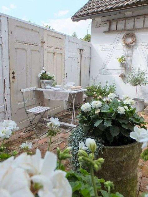 Come Arredare Un Terrazzo In Stile Shabby Garden Cottage