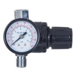 1 4 Locking Pressure Regulator With Gauge Air Compressor Filter Air Tools Air Compressor