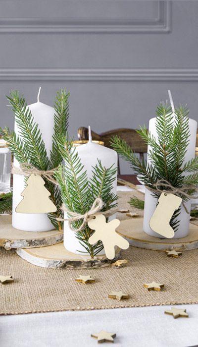 Sujets Décoratifs De Noël Decoration Noel Deco Noel Decoration Table De Noel