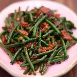 Spicy Stir Fried Chinese Long Beans Recipe Video Seonkyoung Longest Recipe Bean Recipes Long Bean Stir Fry Long Beans