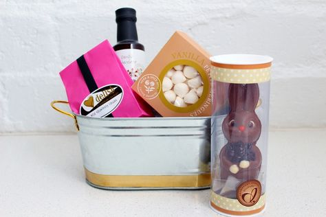 A delicious sweet easter gift hamper httpgiftloft a delicious sweet easter gift hamper httpgiftloftcollections easter hampers chocolate easter egg gift ideas pinterest chocolate easter negle Gallery