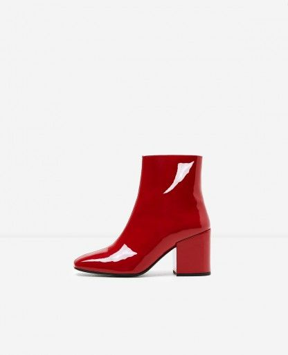 Rouge Bottines En 2019 FemmeOutfits Vernies Cuir 2018 nk8POXw0
