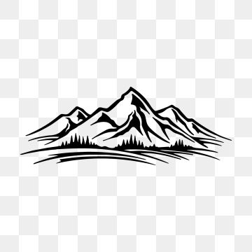 Mountain Vector Png Images Mountain Bike Cartoon Mountains Mountain Vector Vectors In Ai Eps Format Free Download On Pngtree Nature Logo Design Nature Vector Mountain Drawing