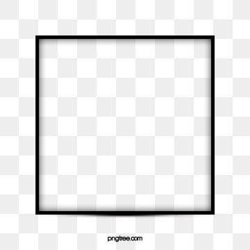 Borda Quadrada Simples Linha Retro Preta Clipart De Fronteira Retangulo Restaurando Maneiras Antigas Imagem Png E Psd Para Download Gratuito White Square Frame Frame Logo Frame