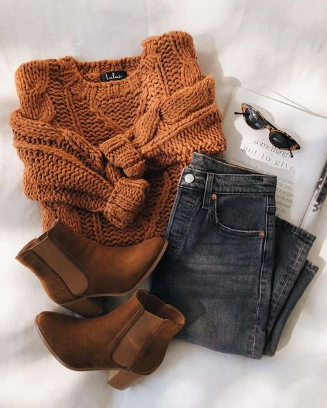Simple Fall Outfits, Cute Casual Outfits, Fall Winter Outfits, Winter Sweater Outfits, Fall Outfit Ideas, Winter Dresses, Fall Outfits For School, Casual Dresses, Summer Dresses