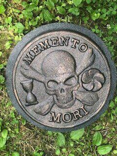 Concrete Mold Your Memory is our Keepsake Memorial Plaque Plaster  Plastic