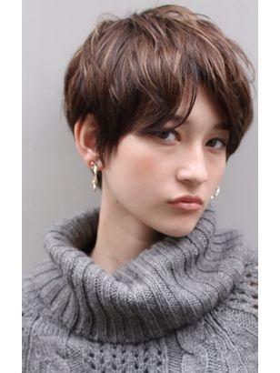 2019年春 ベリーショート 髪量 多い 顔型 丸型 四角の髪型 ヘア