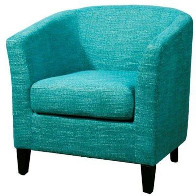 Filton 21 25 Barrel Chair Blue Upholstered Chair Chair Fabric Accent Chairs For Living Room
