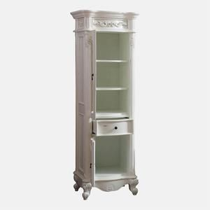 Warden Linen Storage Cabinet Antique White In 2020 Linen Storage Cabinet Linen Storage Storage