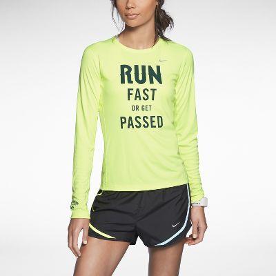 nike running shirt pacer