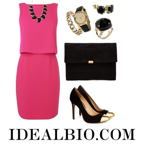 """Golden Chic"" by idealbio on Polyvore"