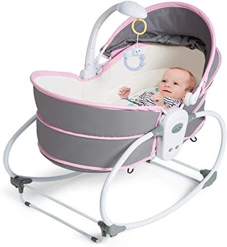 Best Seller Costzon 5 1 Baby Cradle Swing Portable Newborn