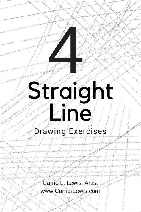4 Straight Line Drawing Exercises   Art lessons   Drawings
