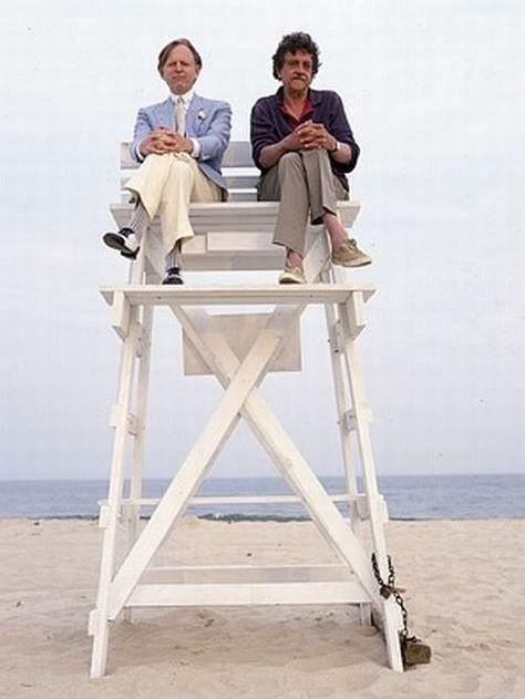 Tom Wolf and Kurt Vonnegut~best dreaming on lifeguard