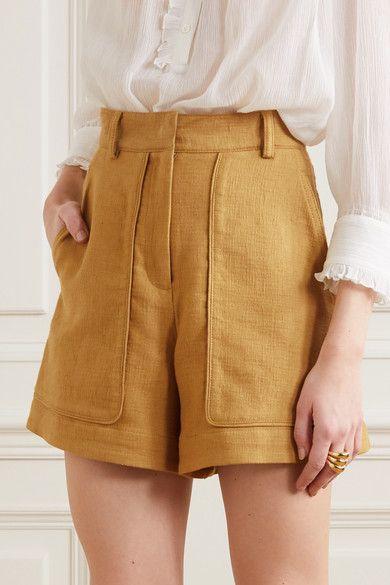 Vanessa Bruno - Iala linen and cotton-blend shorts Look Fashion, Fashion Outfits, Fashion Design, Fashion Shorts, Lolita Fashion, Diy Fashion, Winter Fashion, Fashion Tips, Five Jeans