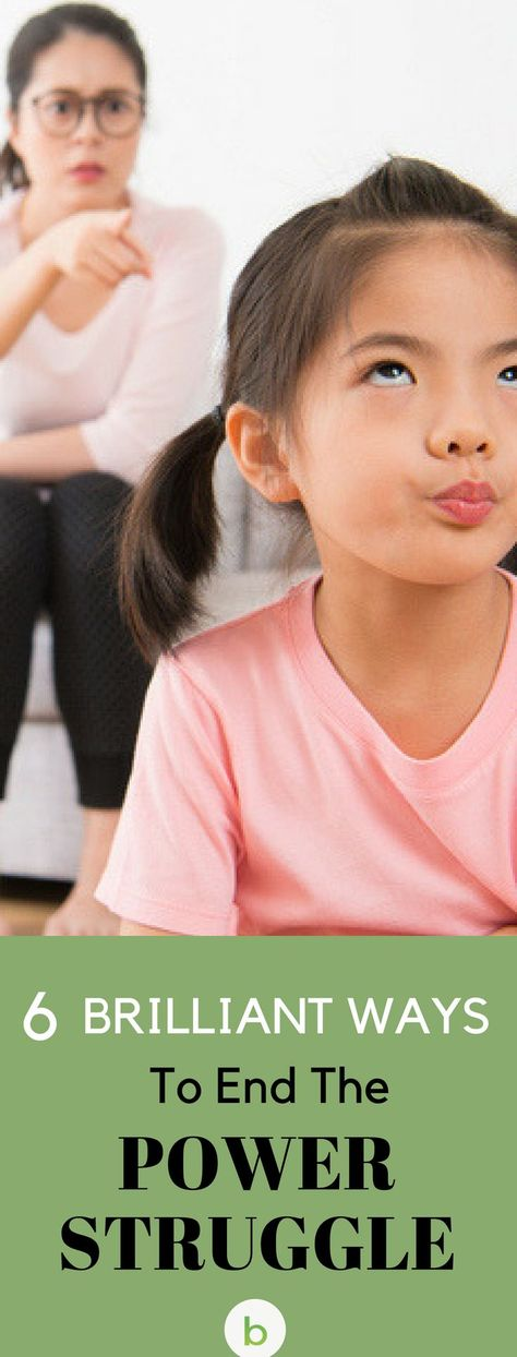 End The Power Struggle! Top 6 Ways To Get Kids To Cooperate | Beenke