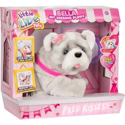 Little Live Pets Bella My Kissing Puppy Little Live Pets Baby Girl Toys Toddler Girl Gifts