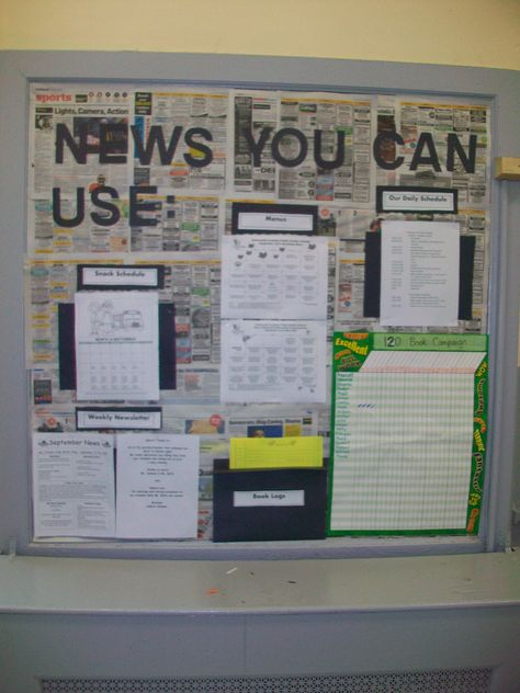This is my Parent Information Board