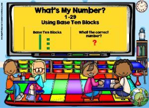 Boom Cards Place Value With Base Ten Block Base Ten Base Ten Blocks Place Values