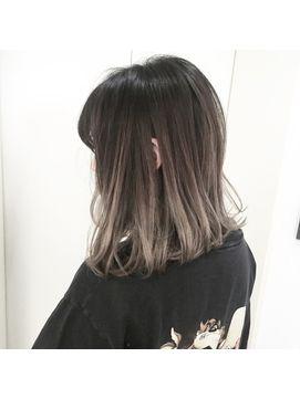 外国人風グラデーションカラー 最新ヘアスタイル 髪 グラデーション